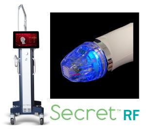 シークレットRFのマイクロニードル器具画像